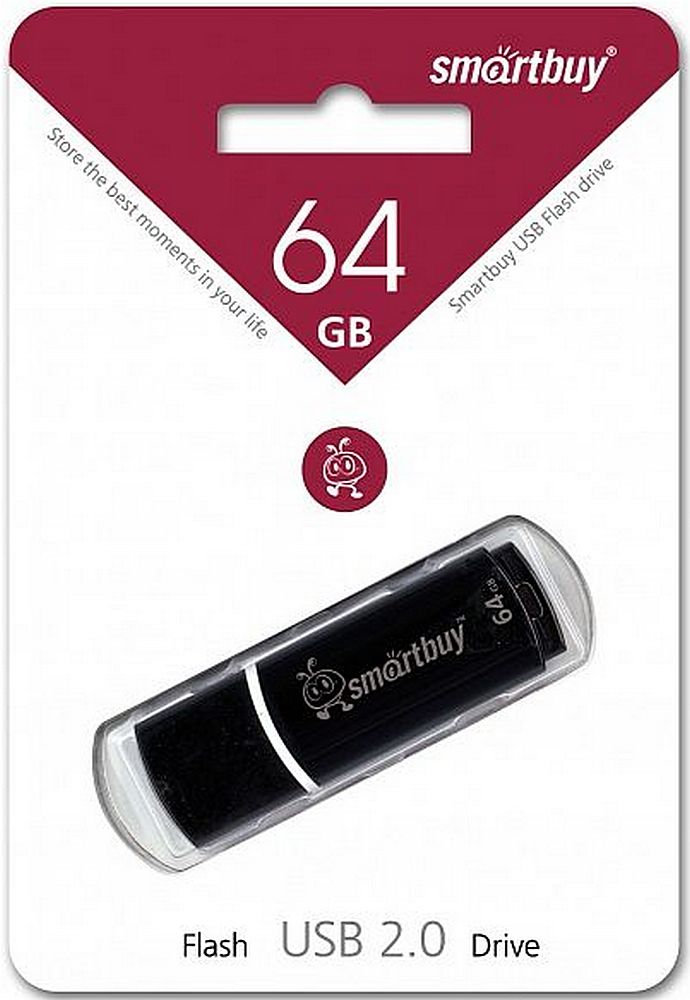 USB флэш накопитель 64 Gb SmartBuy Crown Black SB64GBCRW-K.jpg