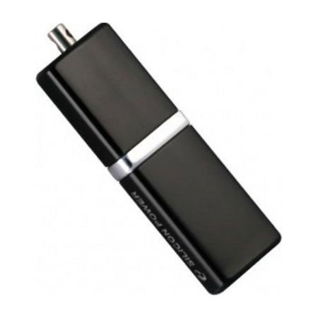 USB Flash Drive  4 Gb Silicon Power Lux Mini 710 Black