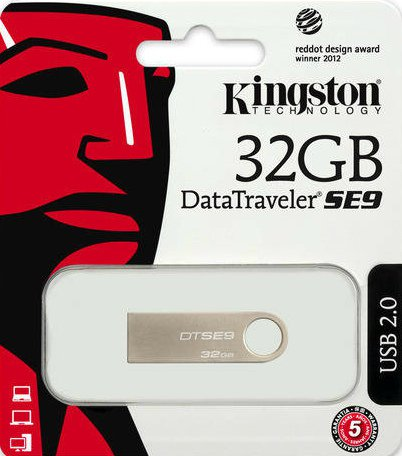 USB Flash Drive 32 Gb Kingston DTSE9