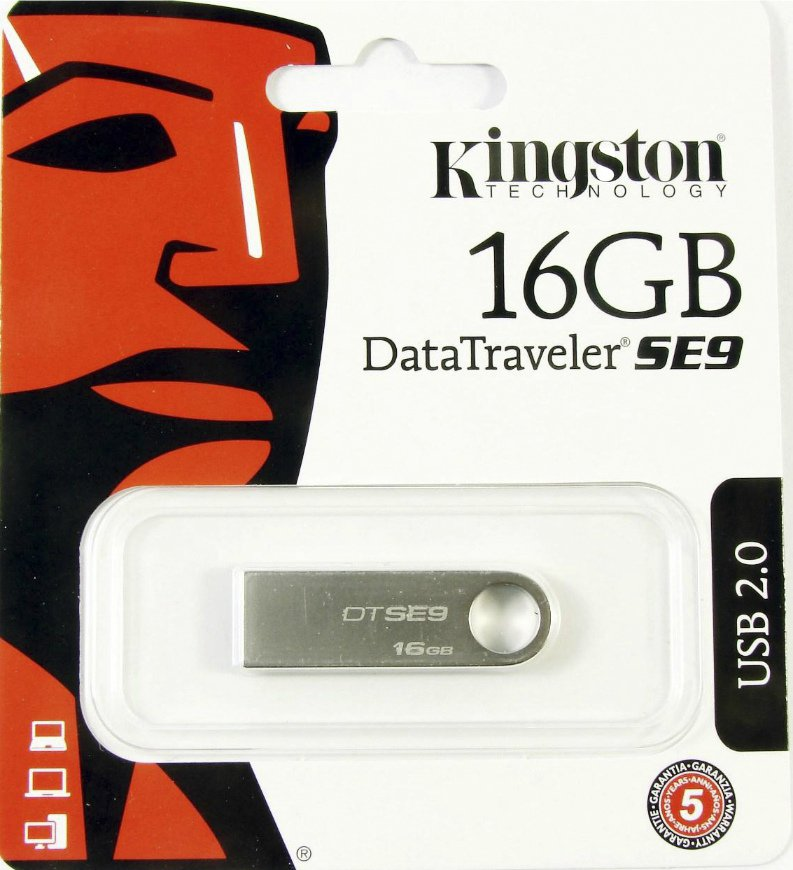 USB Flash Drive  8 Gb Kingston DTSE9