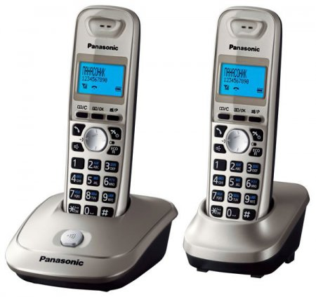 телефон PANASONIC KX-TG2512 RUN DECT 2 трубки